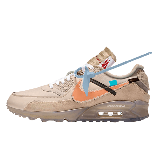 Off White x Nike Air Max 90 Desert Ore Sneaker rilascia in  Sneaker Releases in