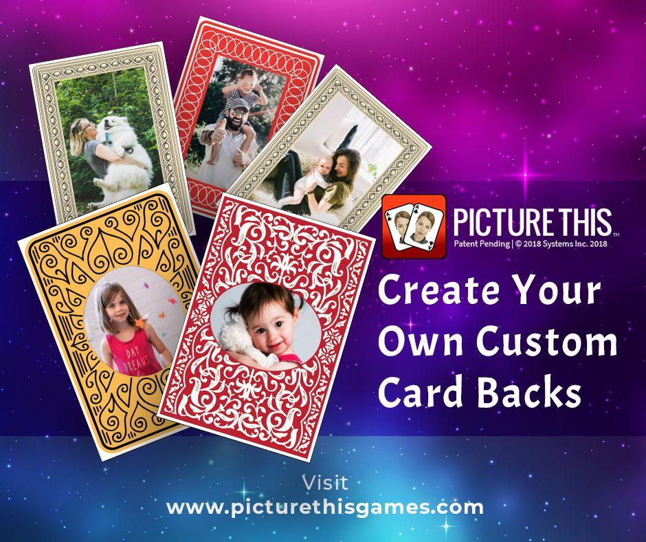 Custom Card Backs in 2020 Custom cards, Cards, Card games