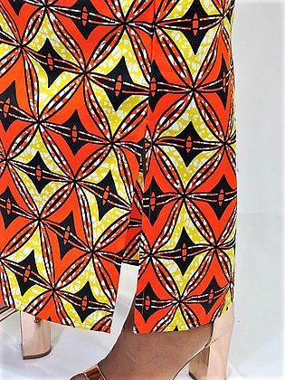9c5747f5e9d5 Details: Nimie Maxi Tee Shirt Dress in Orange & Black/Yellow Star from  ChicNiCity