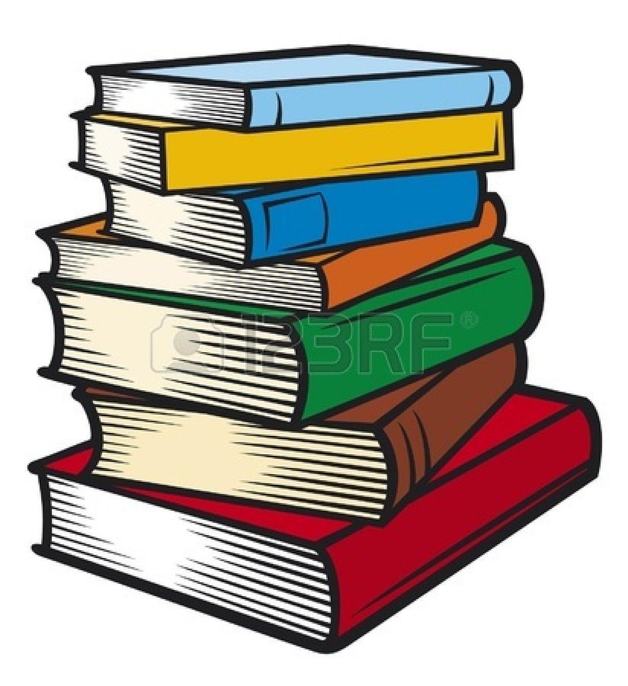 4 Paperback Book Stack Mockup