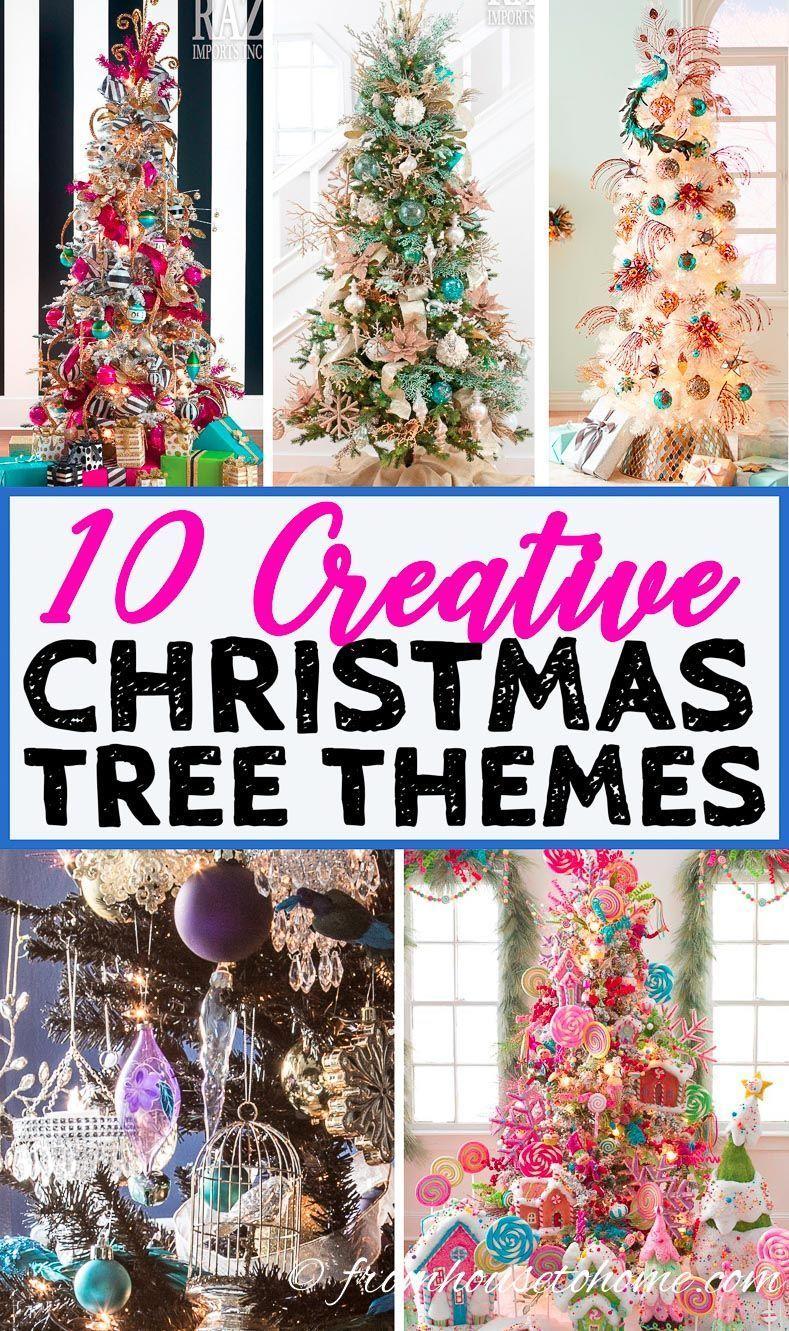 10 Creative Christmas Tree Theme Ideas That Will Inspire You Christmas Tree Themes Peacock Christmas Tree Creative Christmas Trees