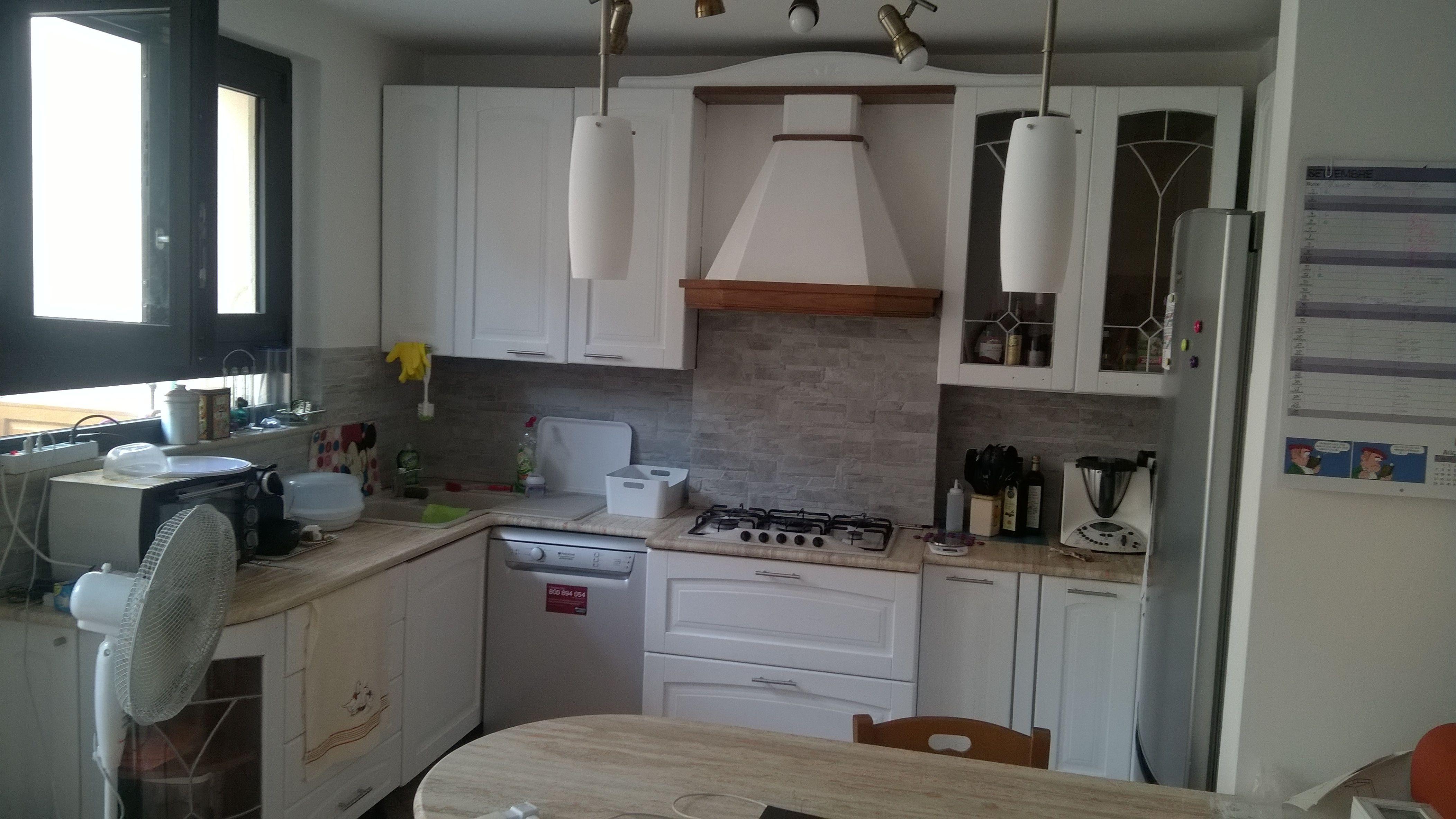 Cucina Classica Moderna Bianca | Consigli D Arredamento Arredare ...