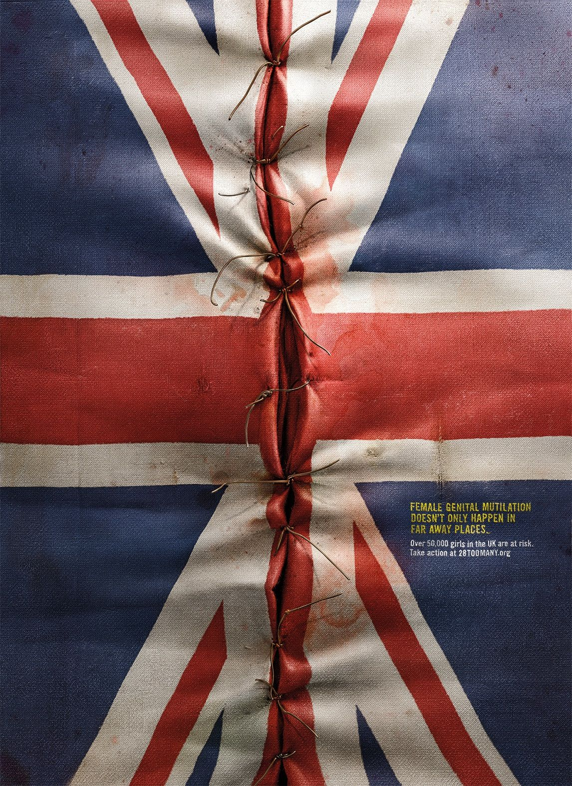 female genital mutilation doesnt only happen in far away places advertising agency - Ogilvy Mather Ad Agency