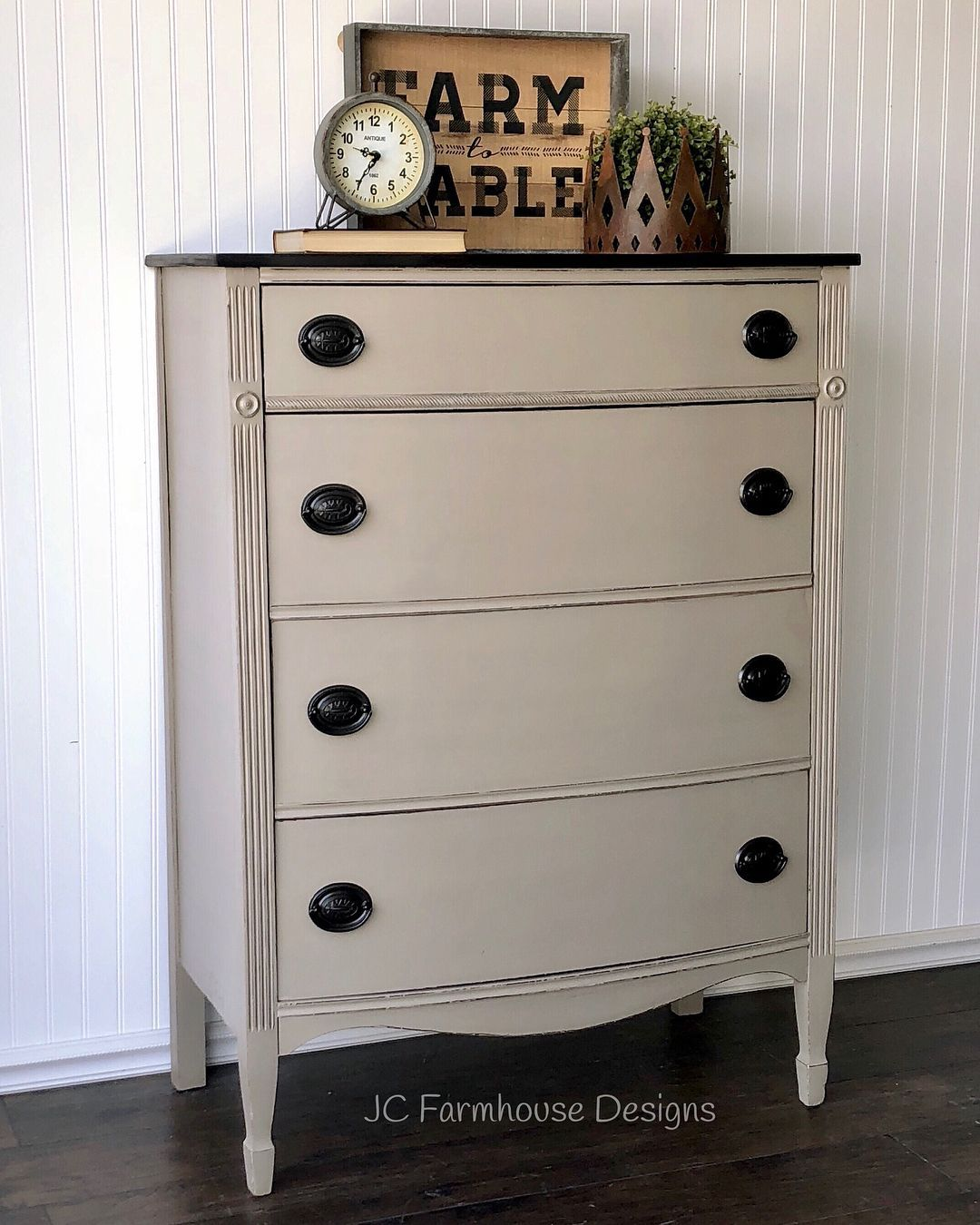 Beautiful refinished vintage farmhouse dresser this beautiful solid
