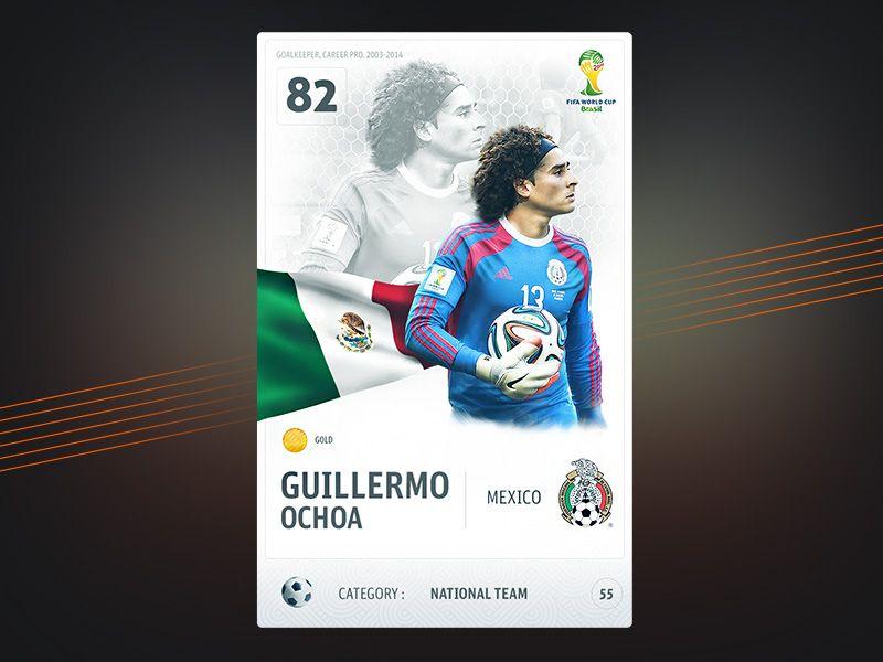 Football card football cards ios app design sports app