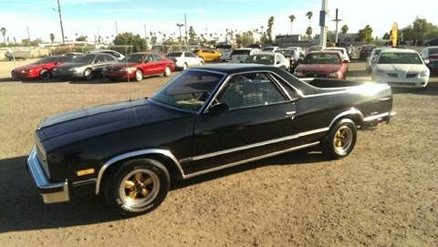 1987 Chevrolet El Camino For Sale In Apache Junction Az Chevrolet El Camino Chevrolet El Camino
