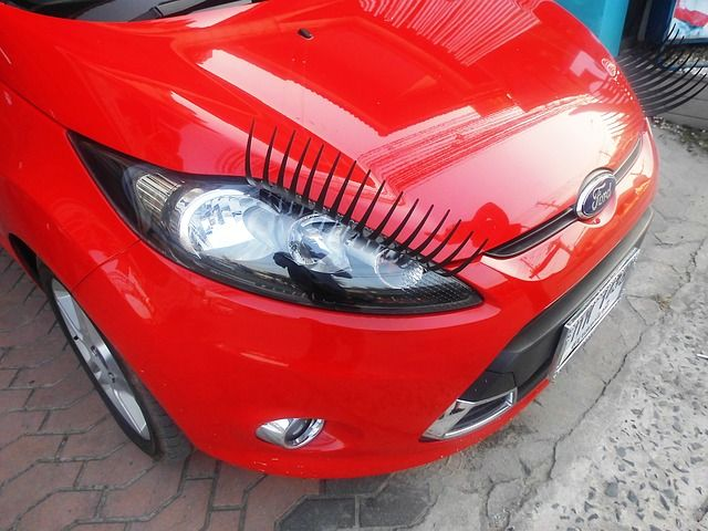 Car eyelashes will take your fashion (and your caru0027s) to the next - home office arbeitnehmer arbeitgeber