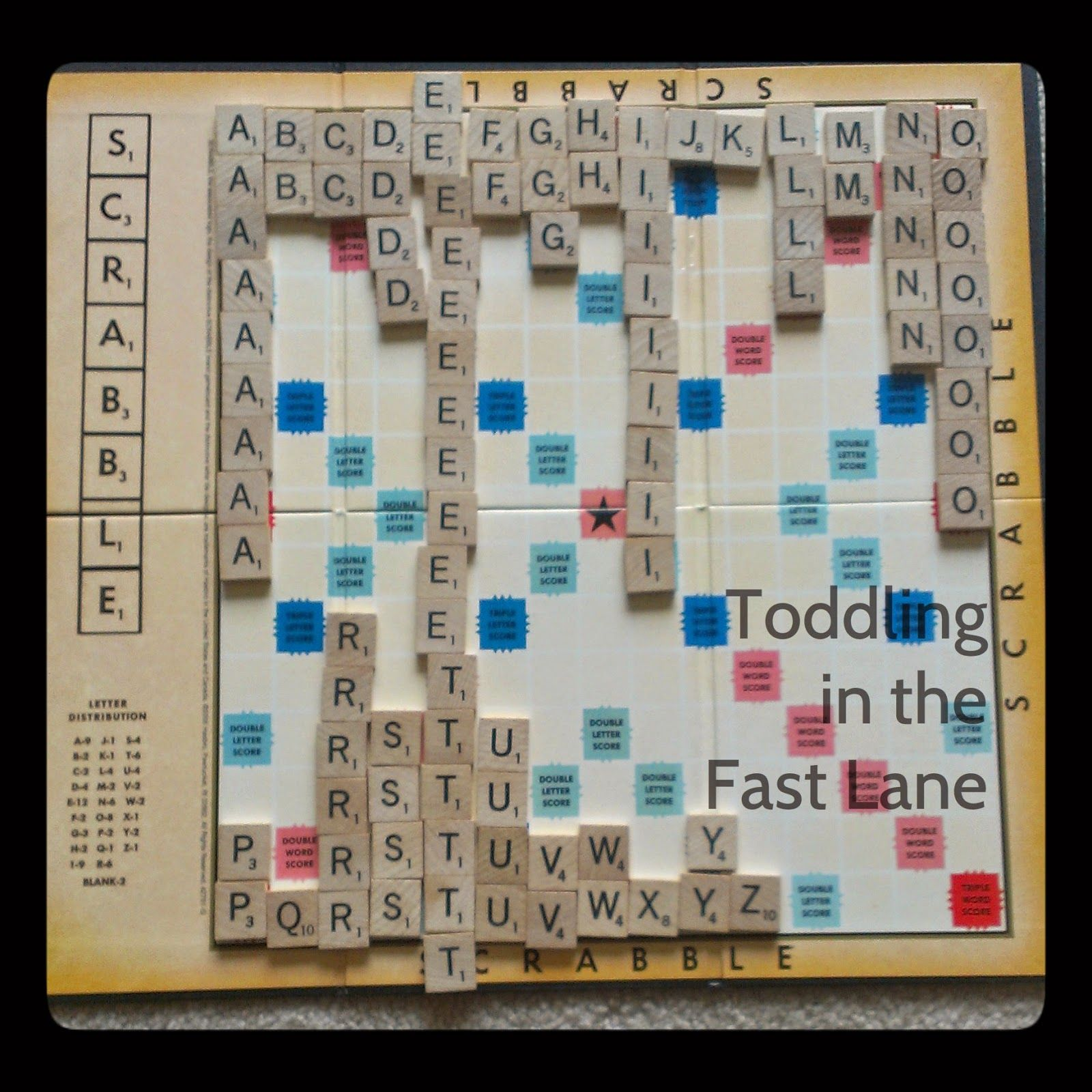 Toddling In The Fast Lane Abc Scrabble