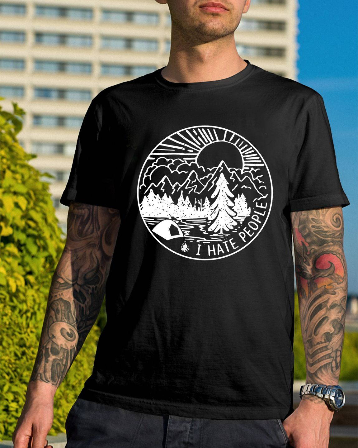 3d78934b73fdca I hate people camping shirt