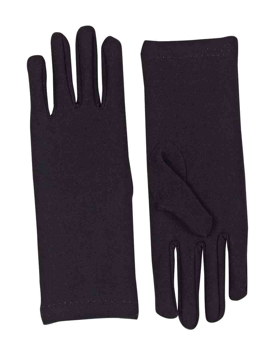 Mens novelty gloves - Women S Novelty Short Dress Gloves Black One Size 5 98 Amazon Also