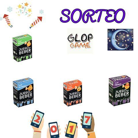 Sorteamos cuatro barajas de Glop Game que es un juego para beber que consta  de una 7bb9c4d6f2ea