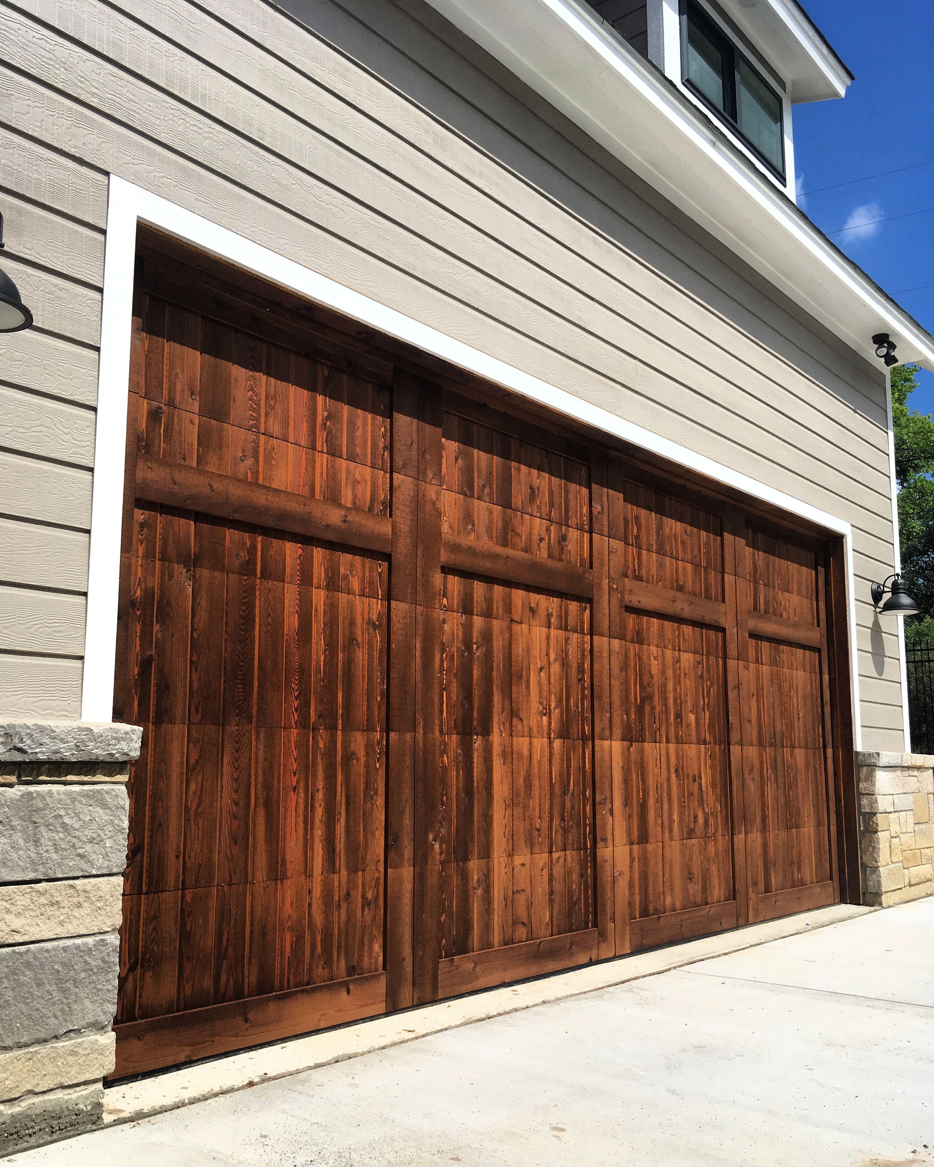 Wood Garage Door Garage Doors Garage Door Design Wood Garage Doors