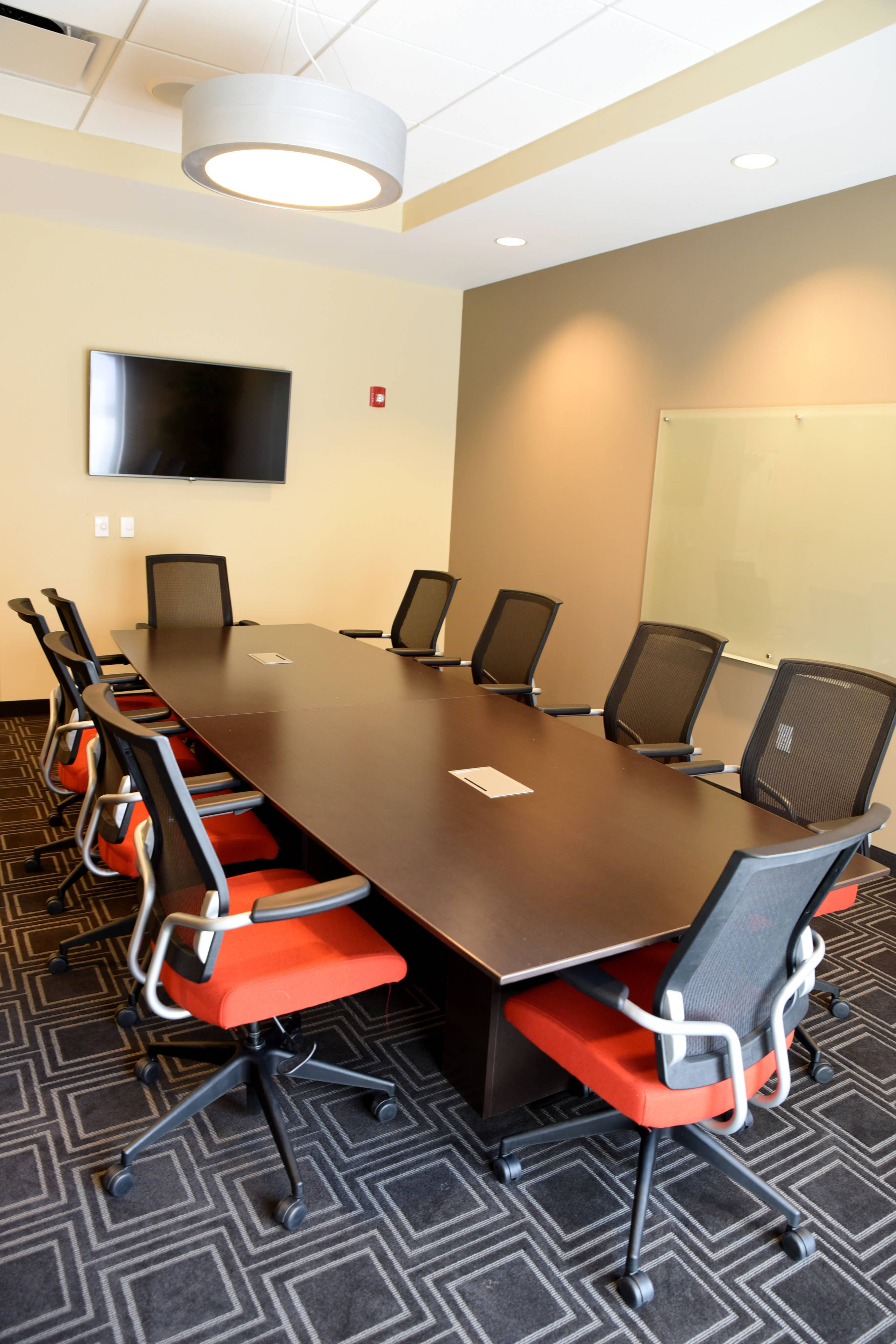 Towneplace Suites Lawrence Downtown Boardroom Rooms Beautiful