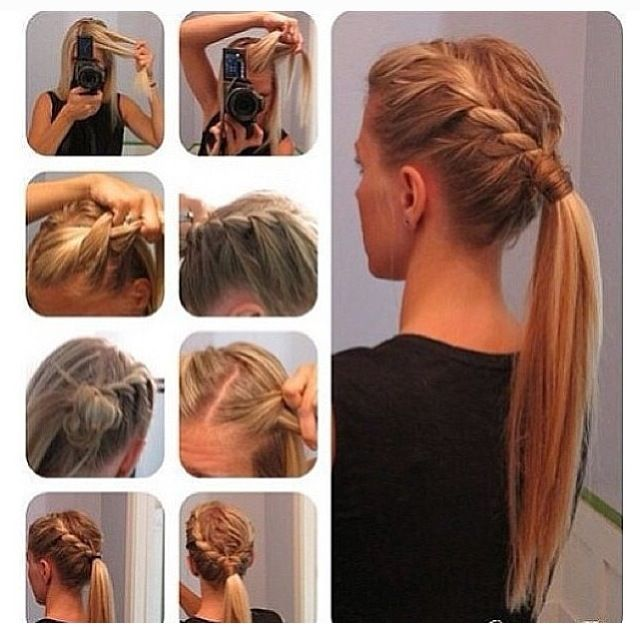 Simple Diy Hairstyles Everyday: 60 Simple DIY Hairstyles For Busy Mornings