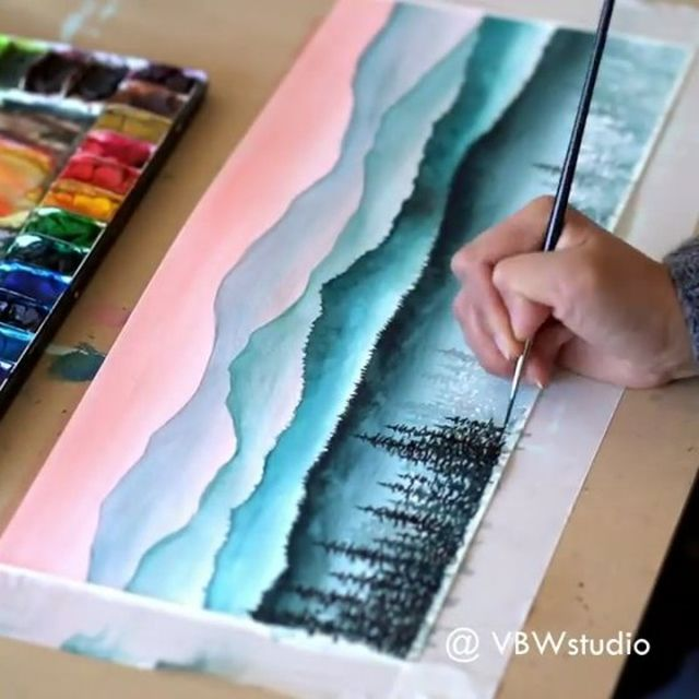 painting #watercolorart