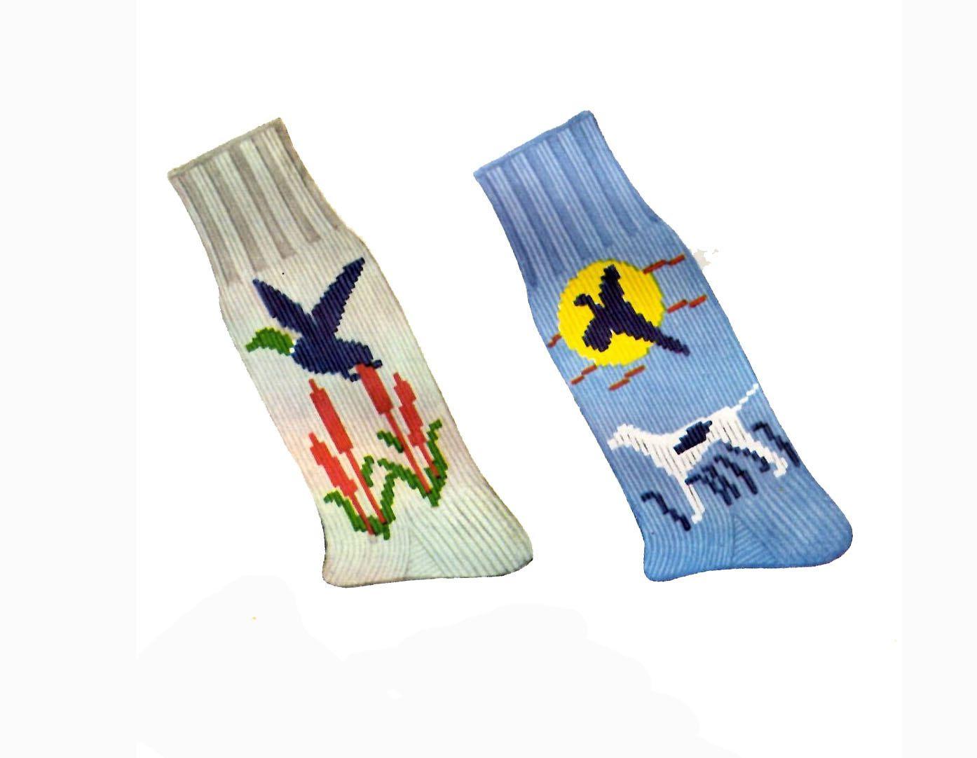 1950s Knitting PATTERN for Mens Socks License Plates Horse Duck ...