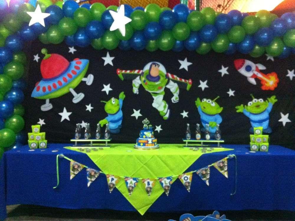 Buzz Lightyear Party ℬїтℌαℓїїøυ Toy Story Birthday