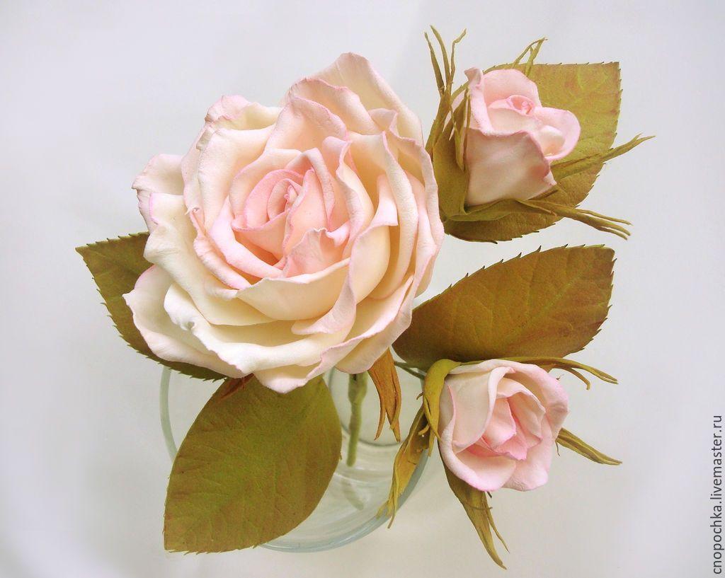 Цветы из фоамирана для открыток мастер класс видео