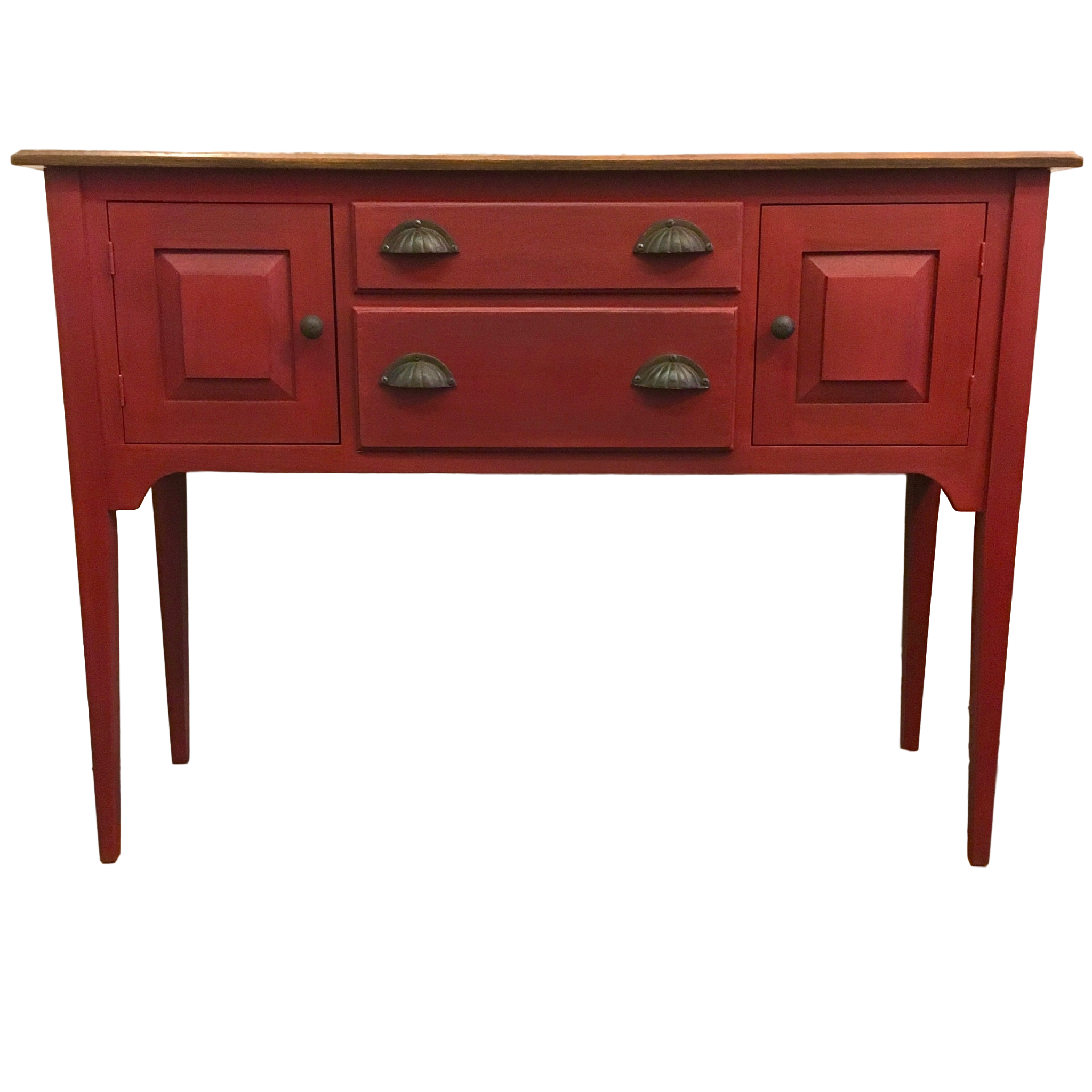 The Red Hunt Board Painted Sideboard Furniture Antique Sideboard Buffet