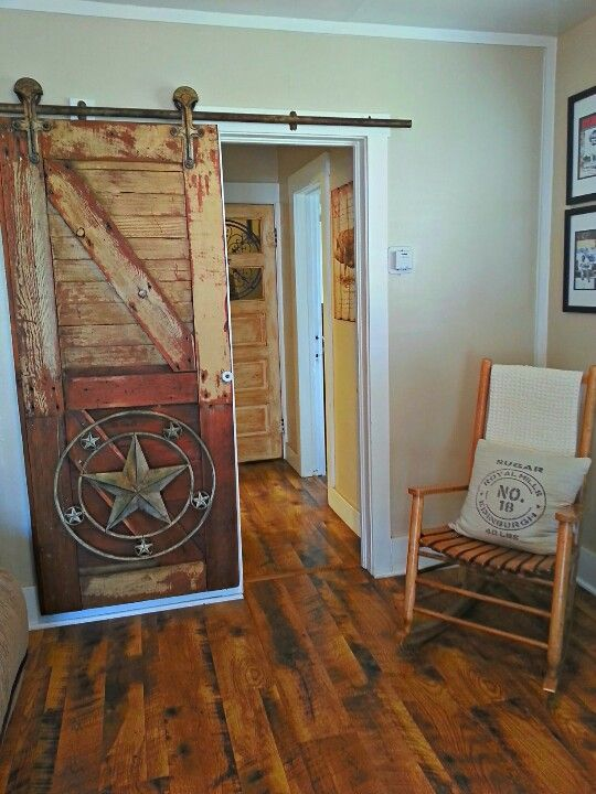 Rustic Sliding Door Rustic Western Decor Western