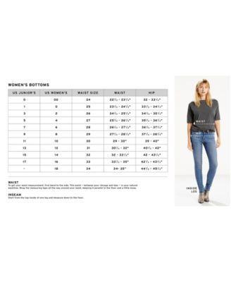 Levi's Plus Size Women's Skinny Jeans