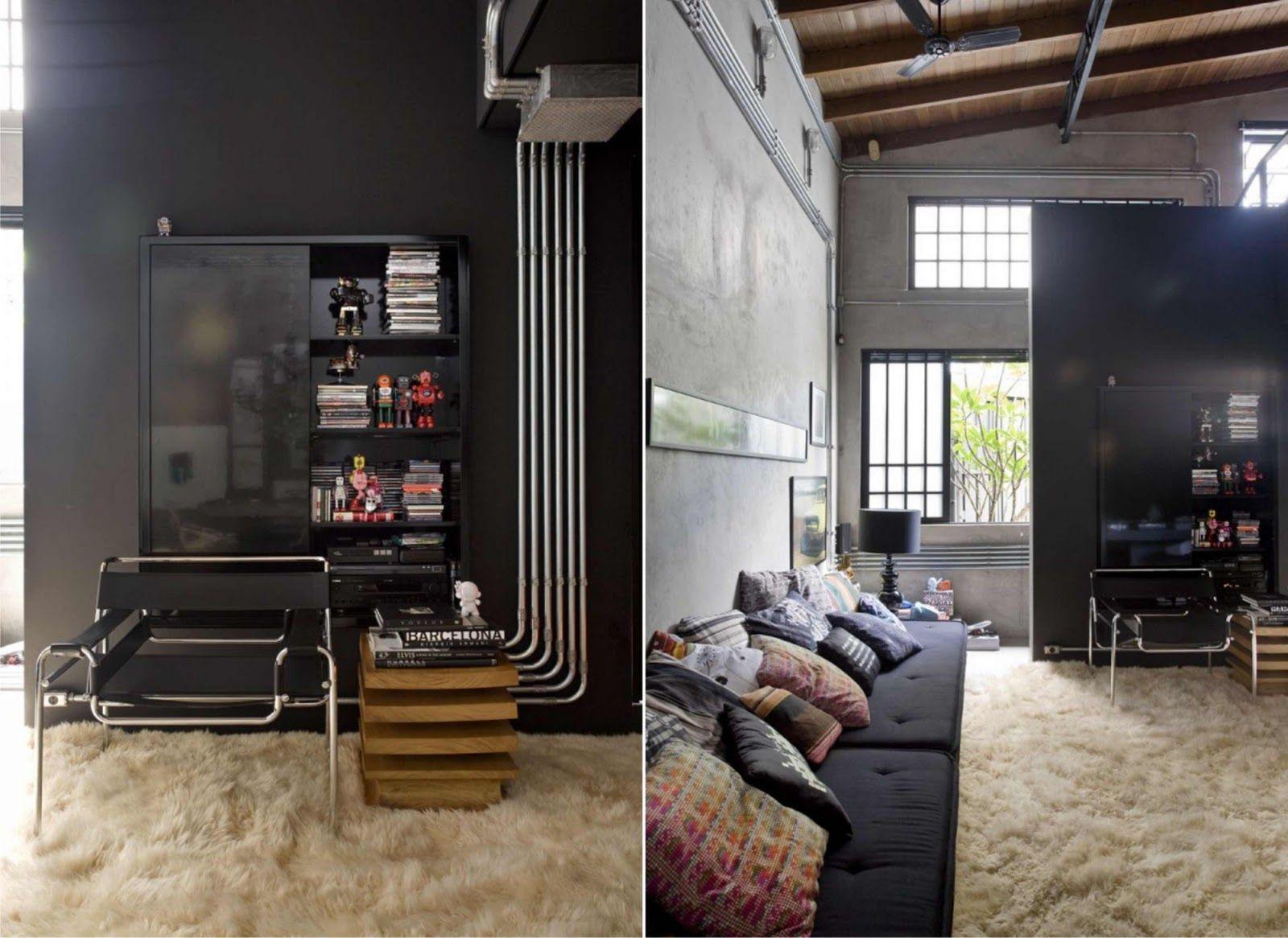 brutalismo arquitectura interior instalaciones - Buscar con Google ...
