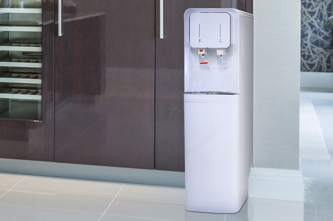 Need A Water Cooler For Home Or Office But You Don T Want To Buy Bottled Water To Fill It Up You Need The H2o Steel Water Tanks Water Coolers Water Dispenser