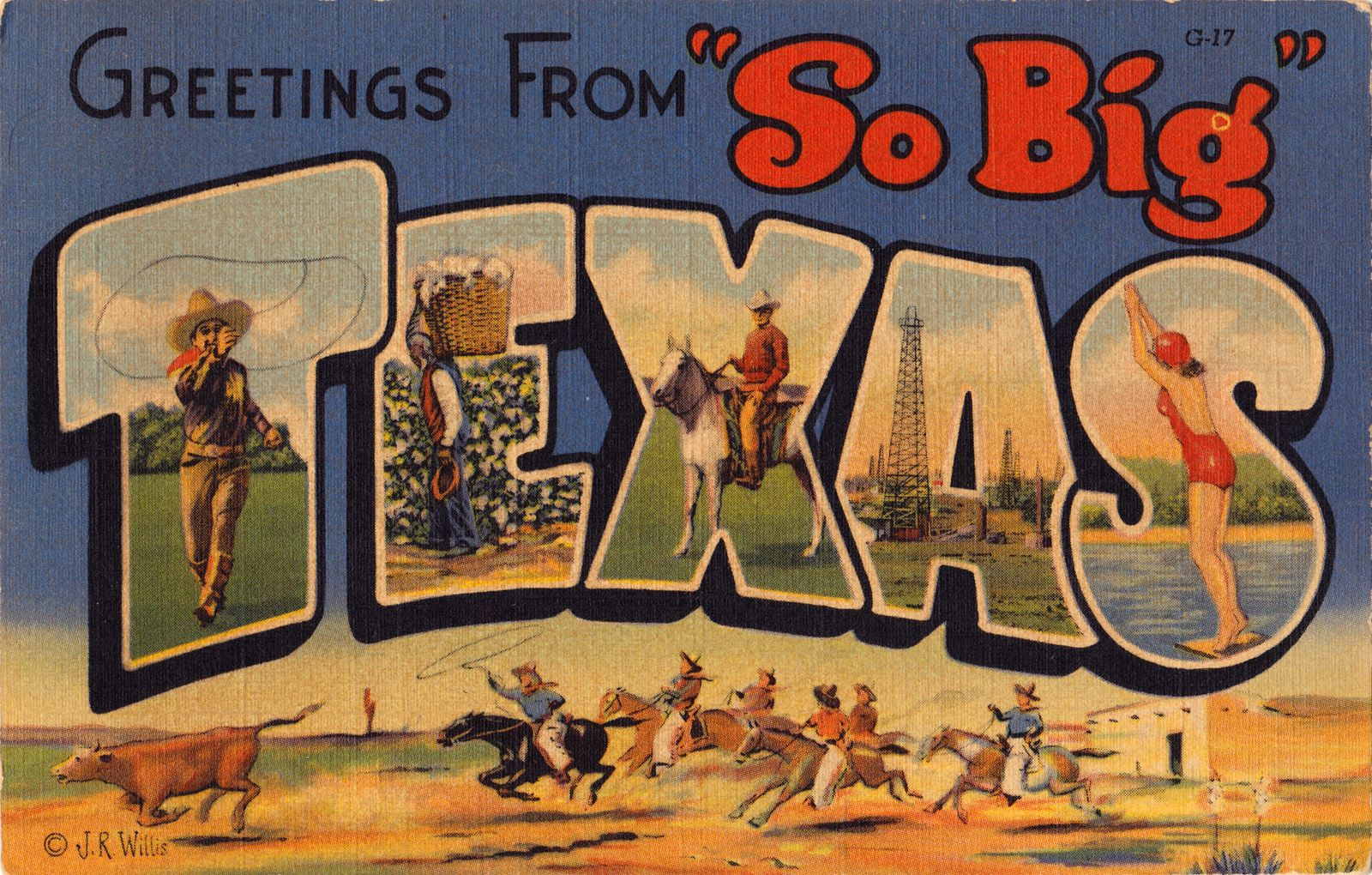 With more than 200 flea markets in total there is definitely no greetings from texas tx postcard print created by scooterbaby order as shown or change the print size or paper type add custom framing kristyandbryce Choice Image