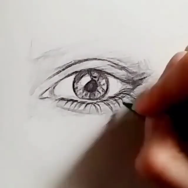 How to Draw an Eye (updated) #realisticeye