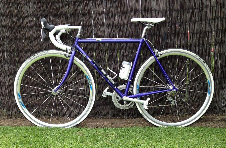 Dookey Dev S 1990 Model Miyata Restored 2016 Shimano Campagnolo Microshift Look Bontrager Components Miyata Bontrager Bike