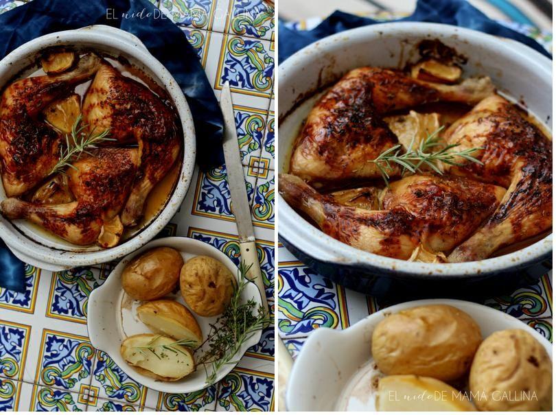 tapas pollos asados