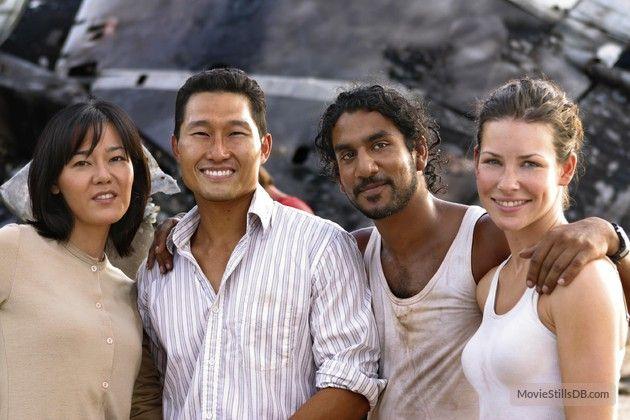 Lost Episode 1x05 Behind The Scenes Photo Of Naveen Andrews Kim Yoon Jin Lost Tv Show Scenes Lost Episodes
