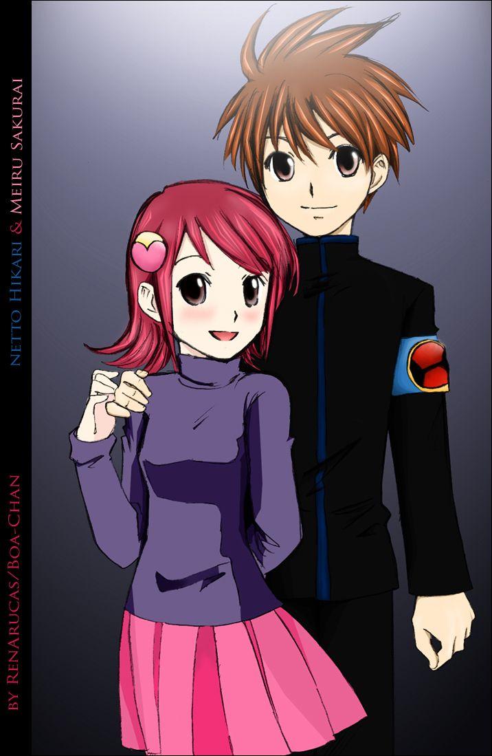 Lan Hikari And Mayl Sakurai Color By Renarucas On Deviantart