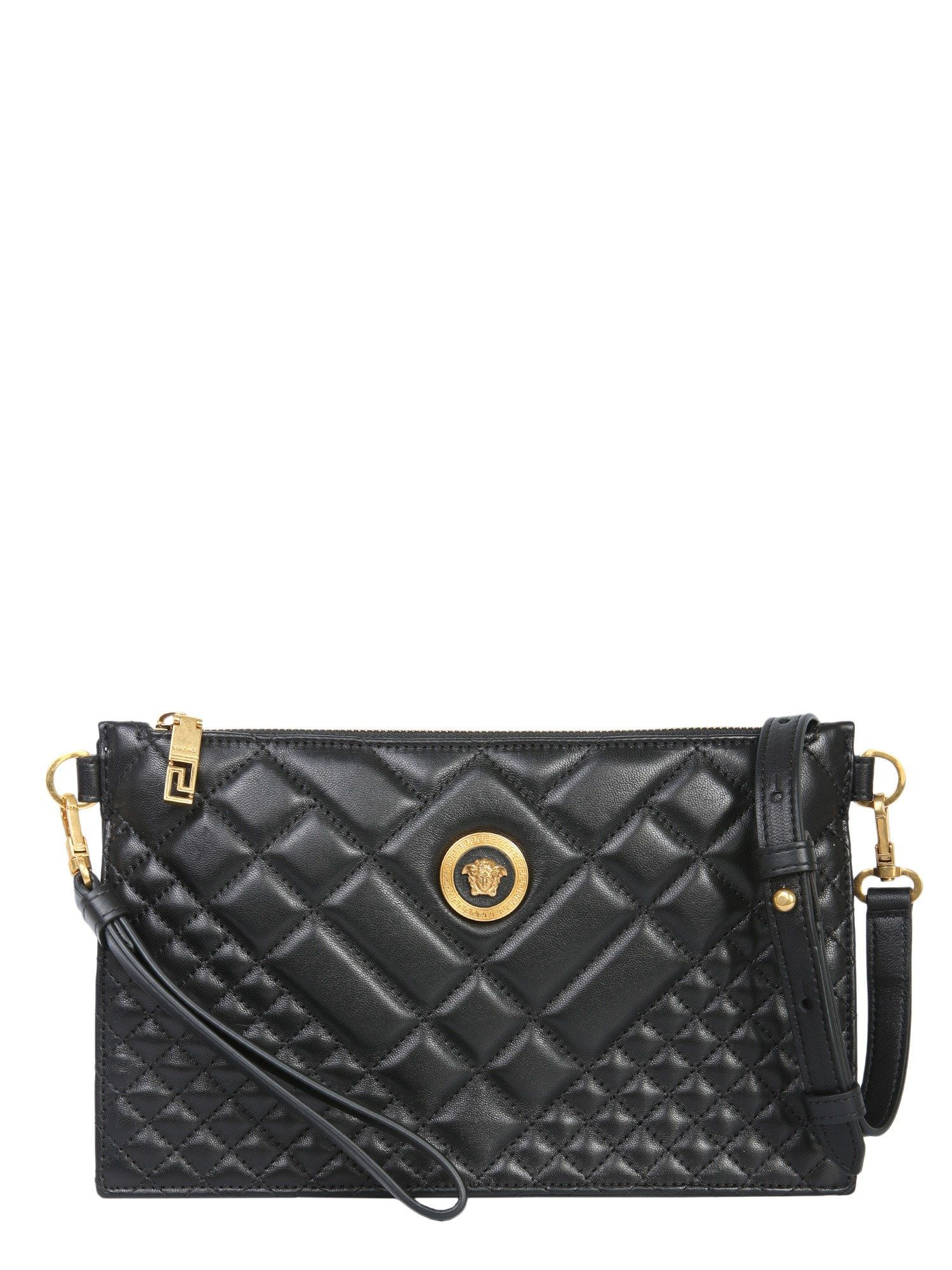 VERSACE SMALL LEATHER MEDUSA CLUTCH.  versace  bags  shoulder bags  clutch   leather  hand bags  clutchesversace 0babdc77879df