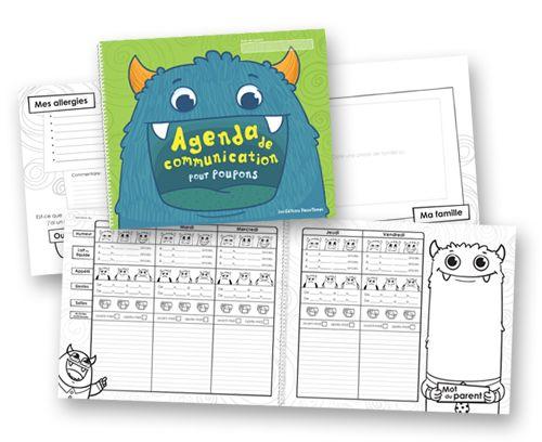 Agenda De Communication Poupons  Petite Enfance  Les ditions
