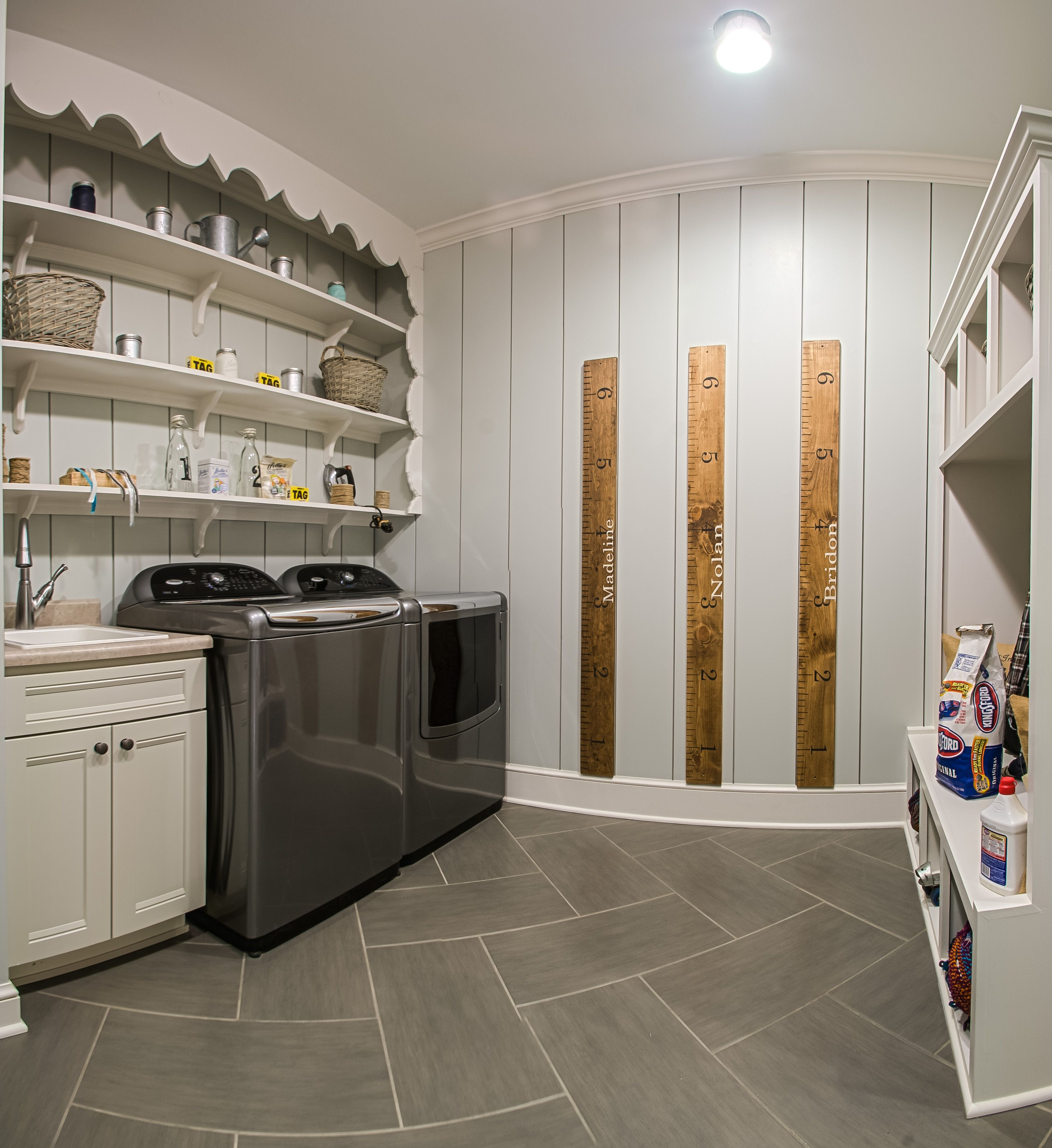 Laundry Room with plenty of room for storage