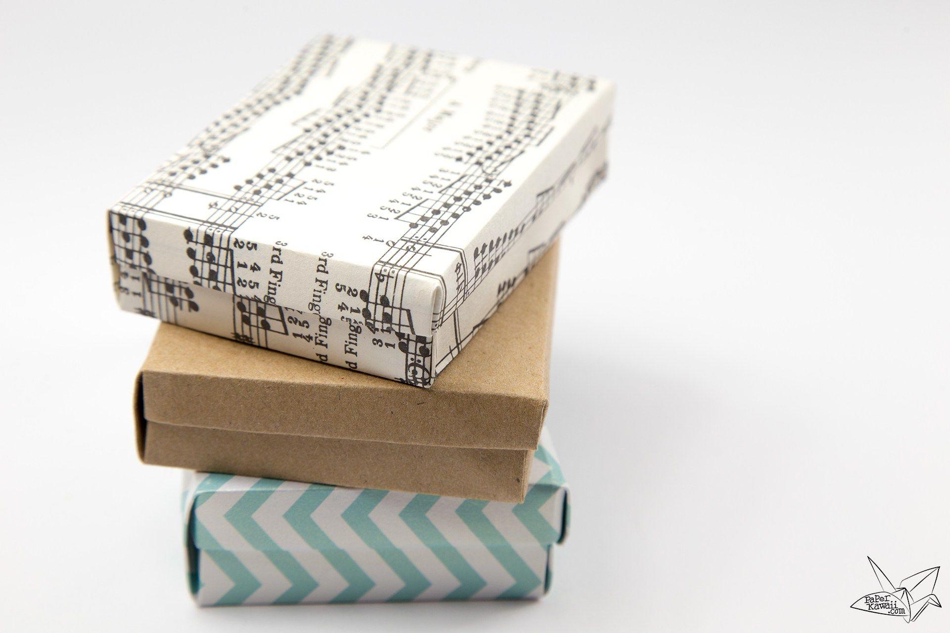 custom size hinged origami box playing cards box