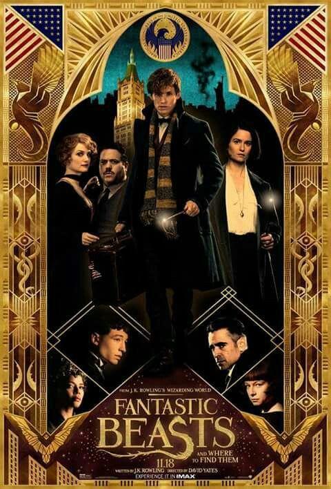 Poster Animais Fantasticos E Onde Habitam Bestas Fantasticas