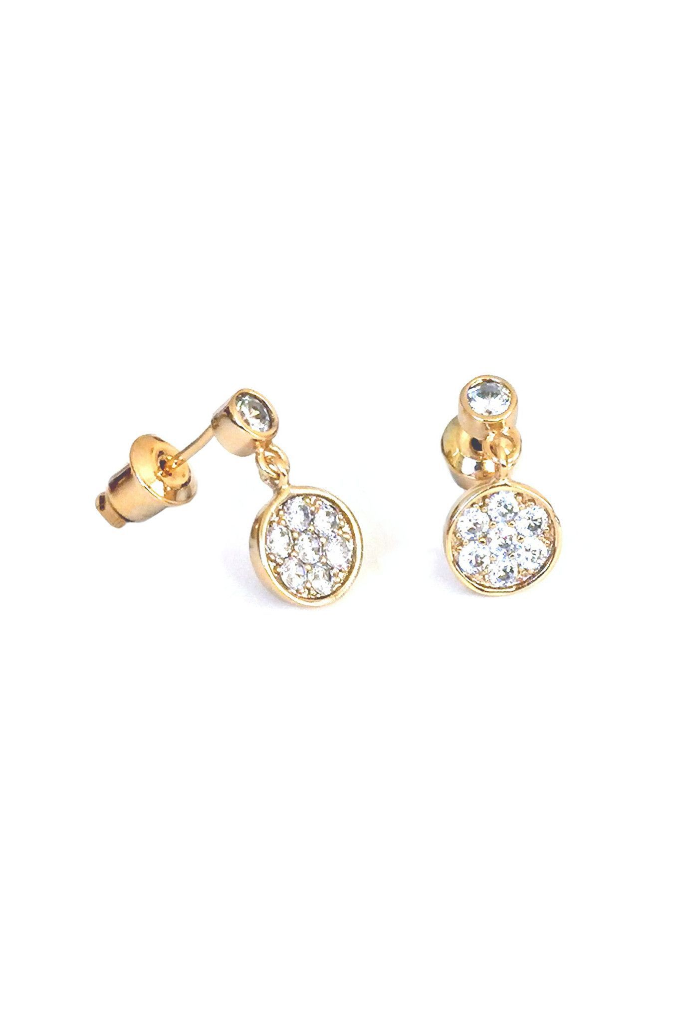 18K Gold Plated Mystic Earring