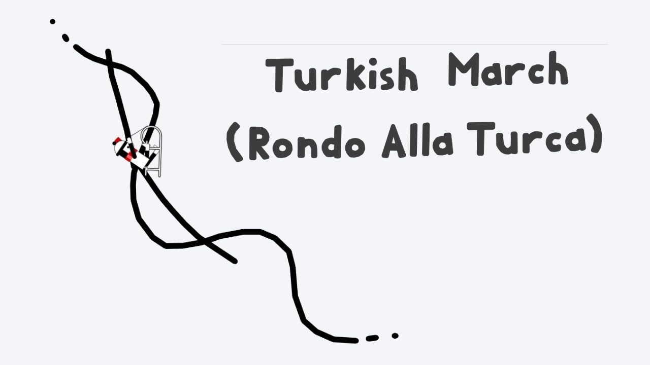 Line Rider Turkish March Rondo Alla Turca Youtube In 2020 Online Learning Classical Music Songs