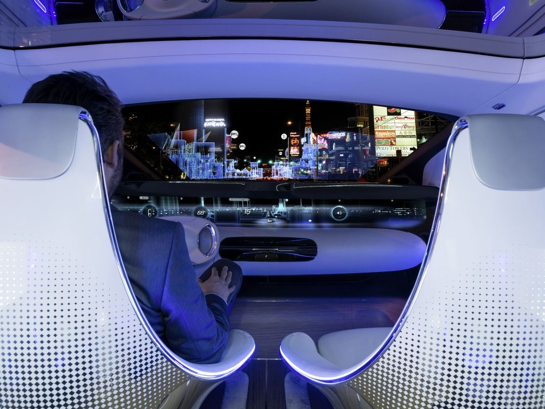Mercedes reinvents the car with a bonkers self driving concept