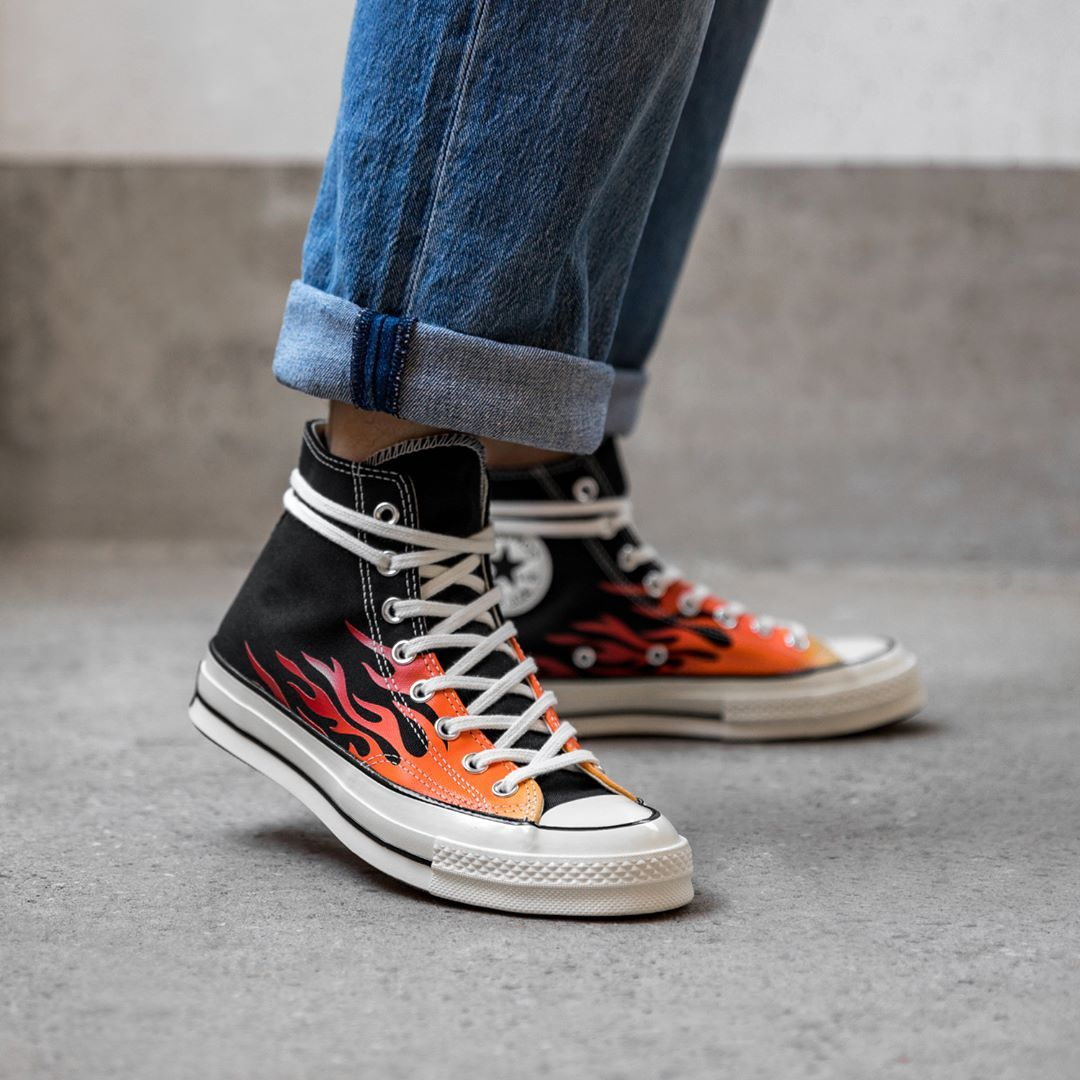 Converse Chuck Taylor All Star 70 Hi in schwarz 165024C