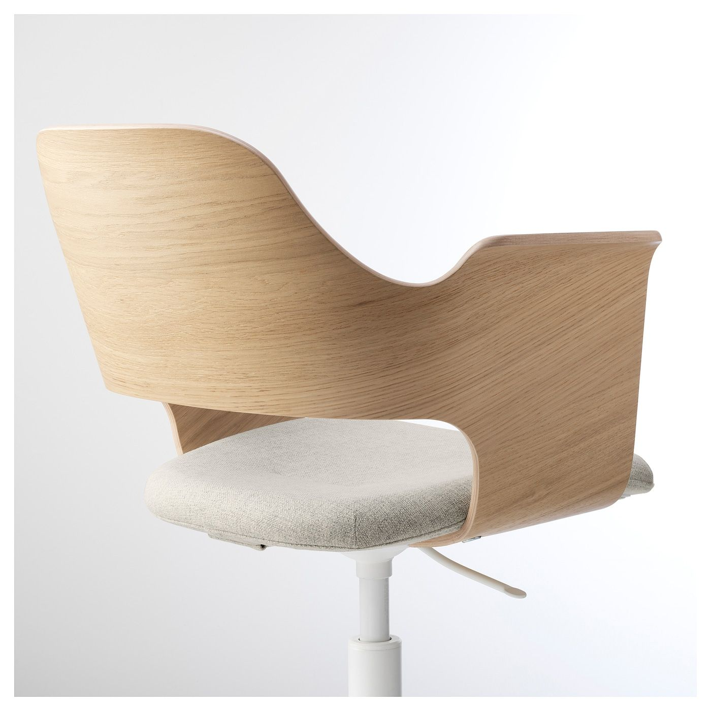 IKEA FJÄLLBERGET Conference chair white stained oak