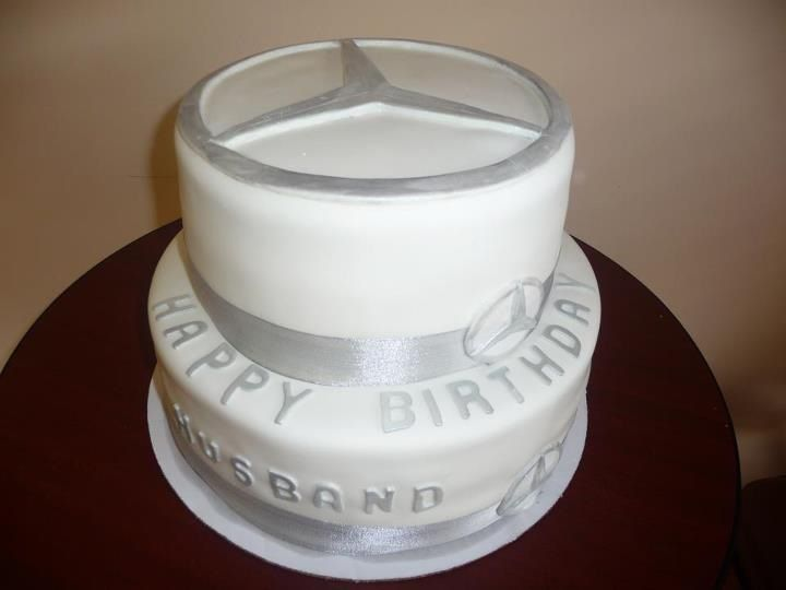 Mercedes Benz Cake Birthday Cakes For Men Cool Birthday Cakes Cakes For Men