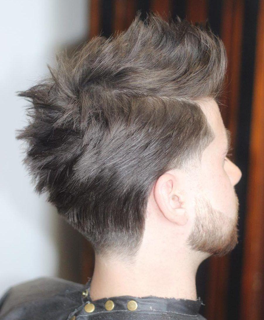 Der fauxhawk aka fohawk haarschnitt fohawk haircut faux hawk