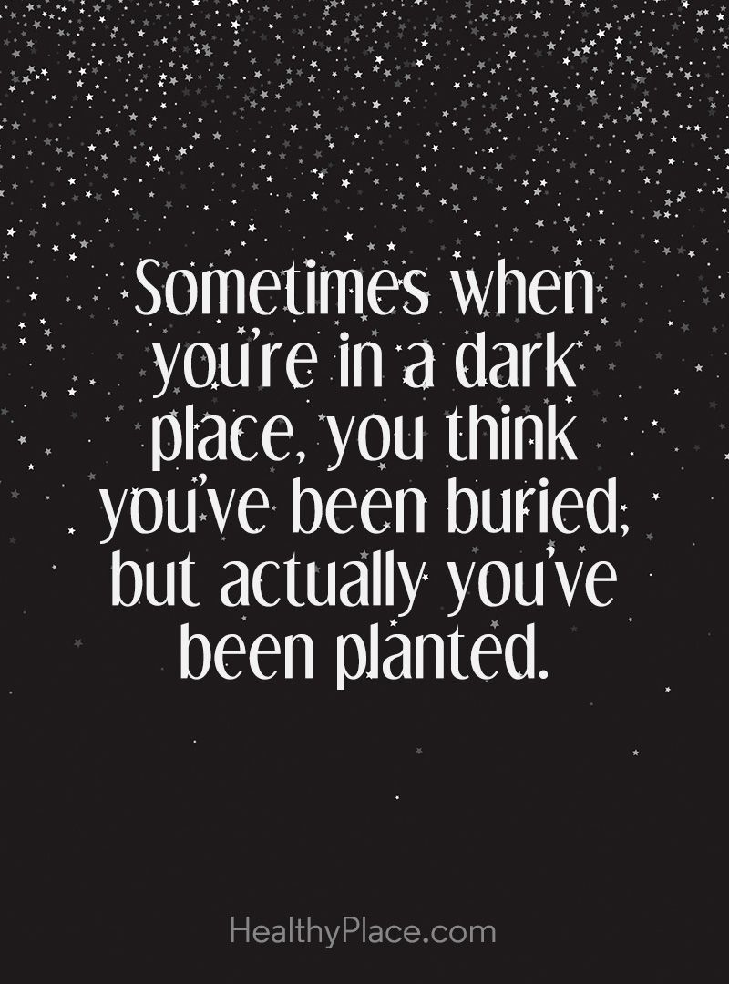 Thinking Of You Quotes Interesting Law Of Attraction Quotes  Dark Places Bury And Plants