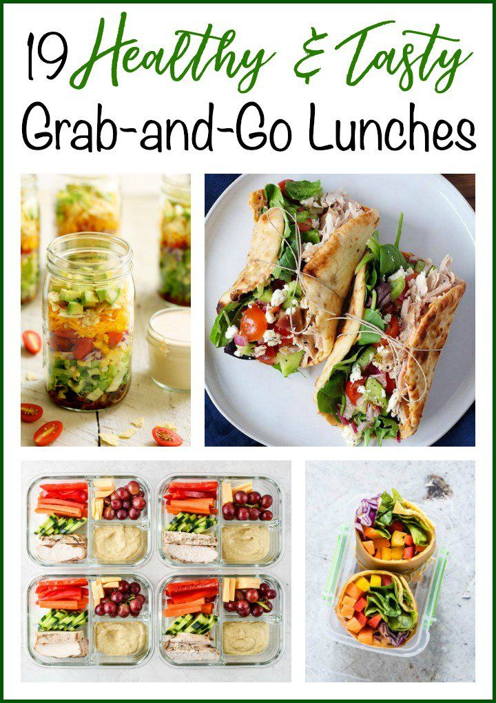 19 Healthy and Tasty Grab-and-Go Lunches images