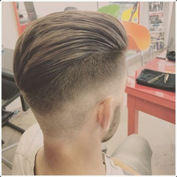 An Upswept Cut With A Taper #fade Will Make You #shine!