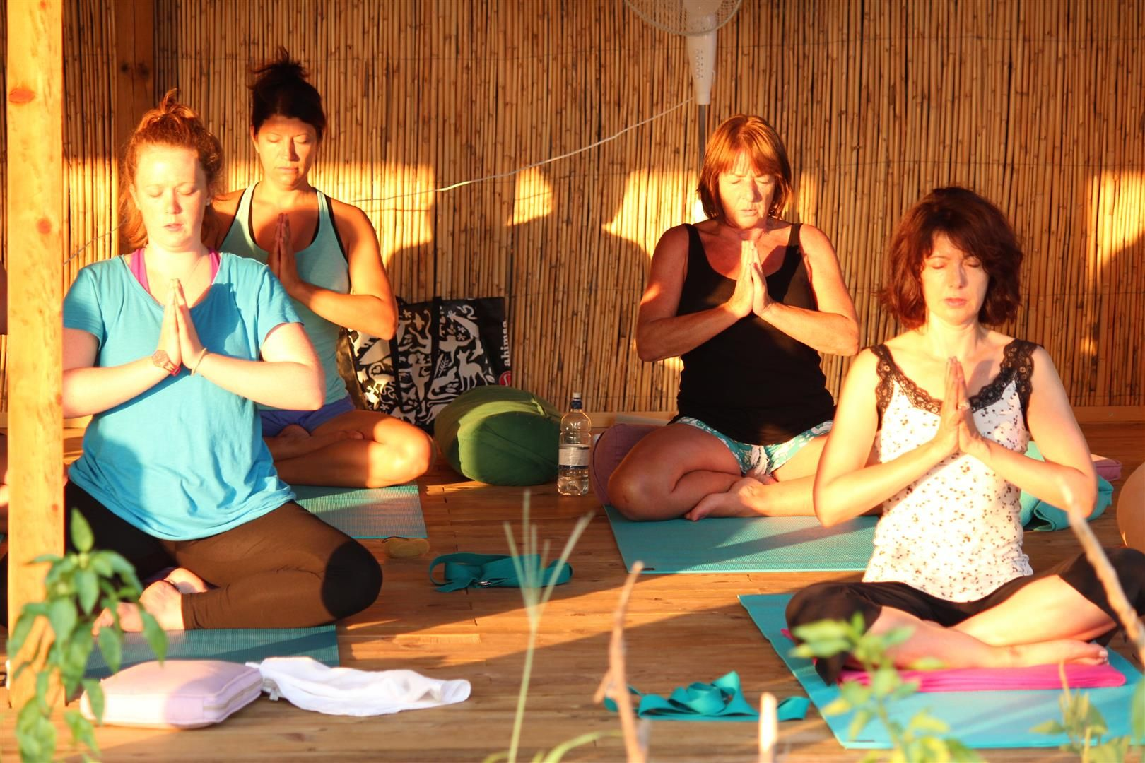 We will have twice daily yoga classes in one of the two amazing yoga spaces (one indoor and one outdoor), both overlooking the sea and lush vegetation. These are great spots to watch sunrises and sunsets during the practice.