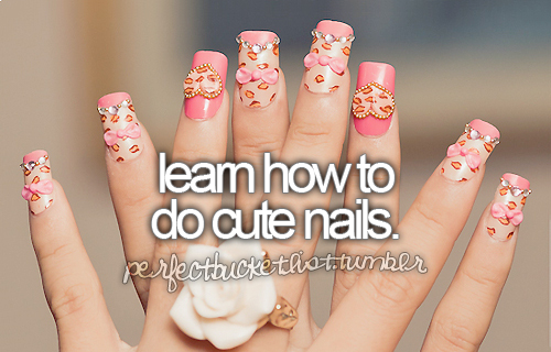 1st i have to let my nails grow out, but id love to be able to make them all pretty like this!